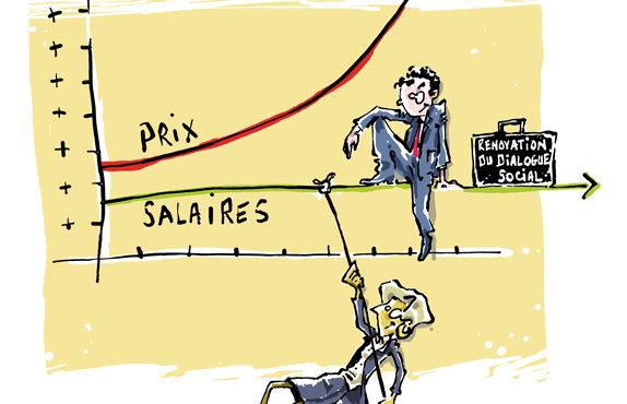 Encore une réduction des salaires pour 2018